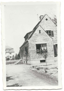 Unser Haus um 1954