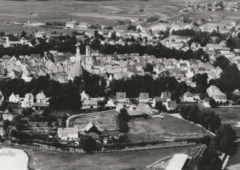 Schrobenhausen um 1960