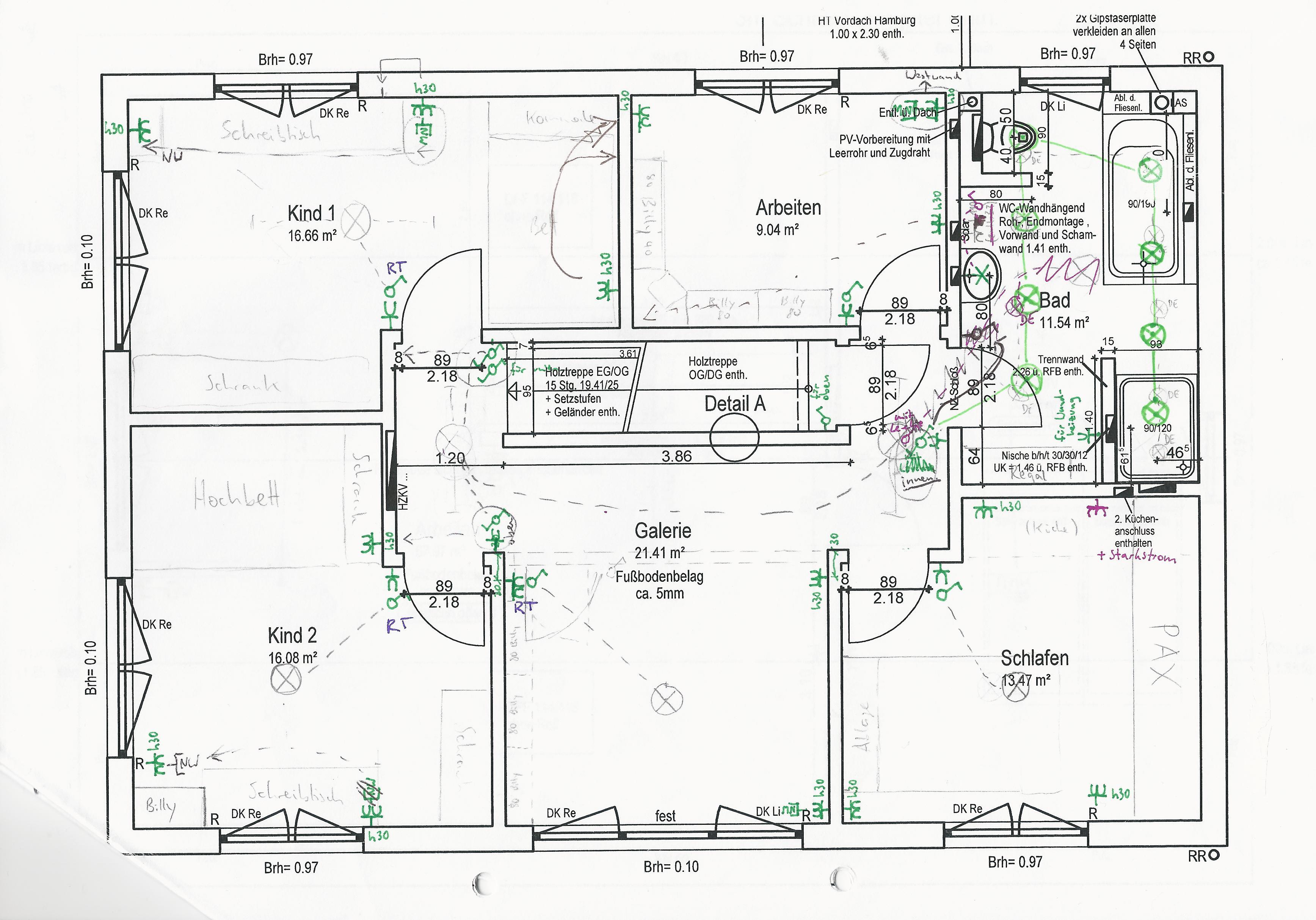 Grundrisse Zeichnen Plan Unsere Nummer 1